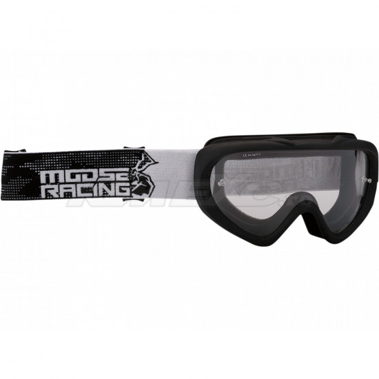 Ochelari copii Moose Racing Qualifier Black White