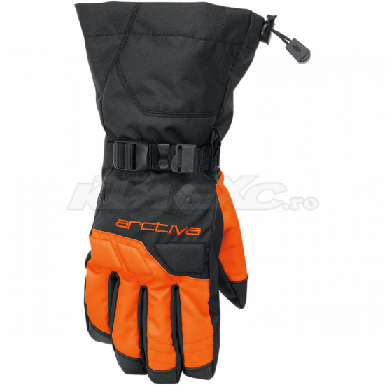 Manusi snow Arctiva S8 Pivot Black Orange